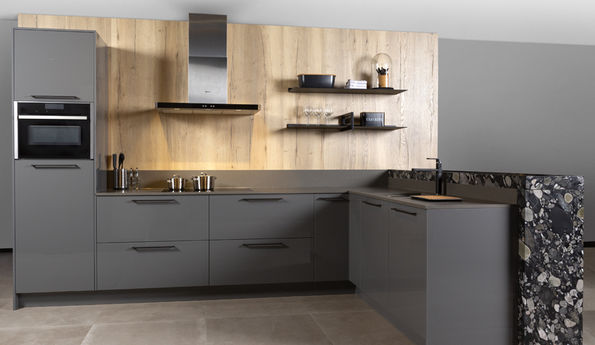 Onyx grijze keuken