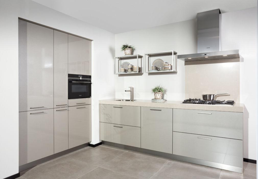 Moderne Hoogglans Keuken : Moderne keuken met l opstelling in cubanit glans u marquardt küchen