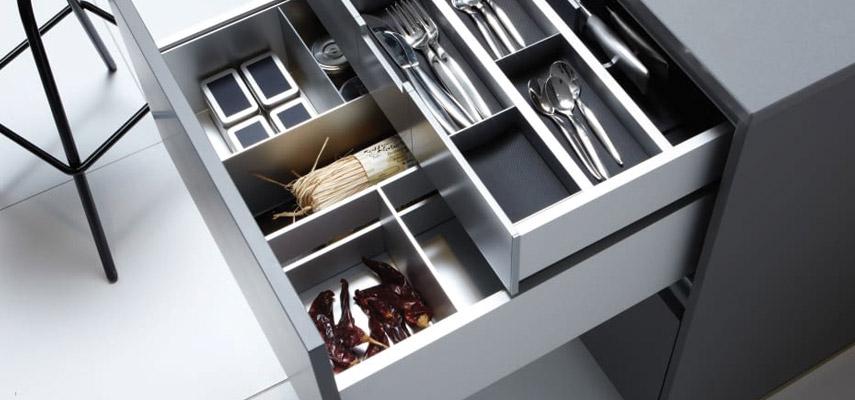Indeling keukenlade