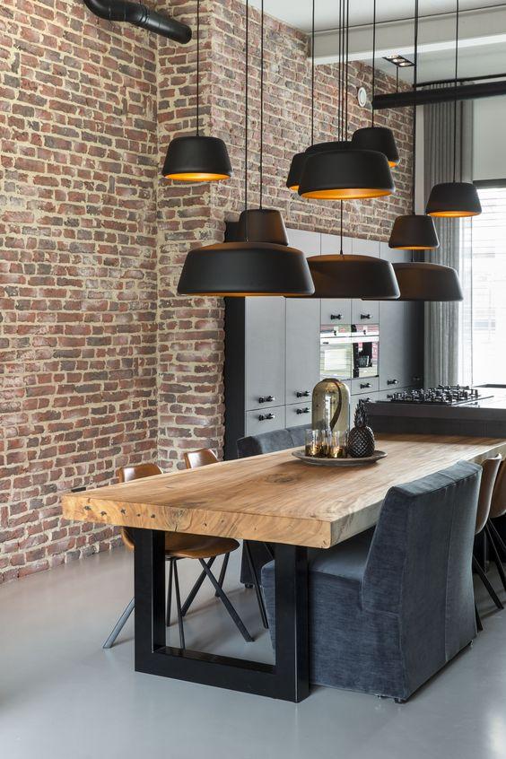 Hanglampen in de keuken