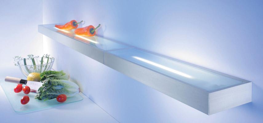 Boekenplank Met Verlichting.Blinde Wandplank Met Verlichting Awesome Sleuven Voor Het Ophangen